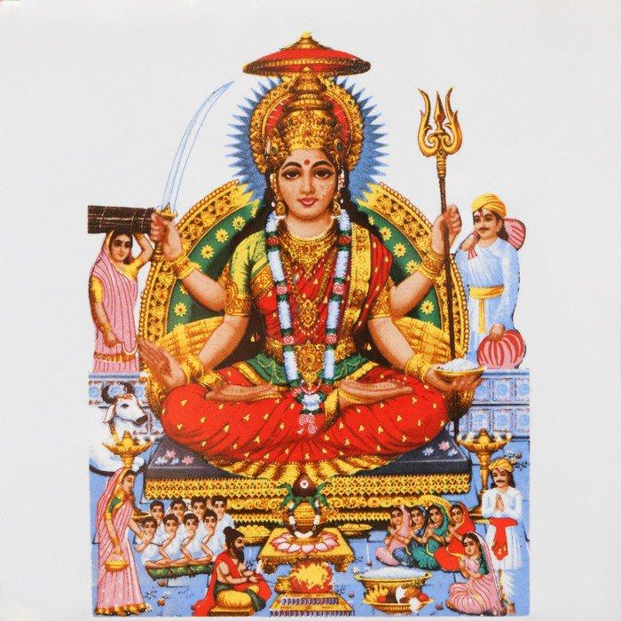 Fototapeta Vinylowa Parvati, hinduska bogini miłości i oddania - Azja