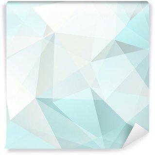 Pixerstick Duvar Resmi Soyut üçgen arka plan, vektör