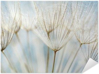 Pixerstick Poster Abstrakt maskros blomma bakgrund