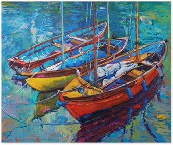 Plakat Båter