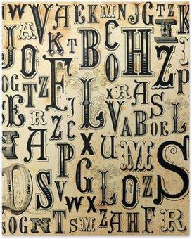 Plakát ABC ročník pozadí