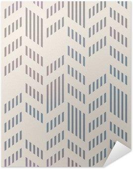 Plakát Abstrakt bezešvé geometrický vzor Vector Chevron. mesh backgro