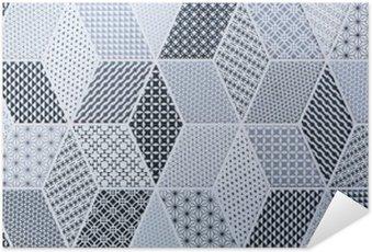 Plakát Abstraktní mozaika dlaždice pro stěny a podlahy