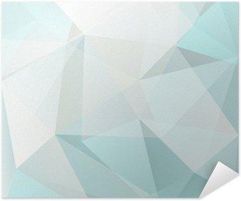 Plakát Abstraktní trojúhelník, pozadí, vektor