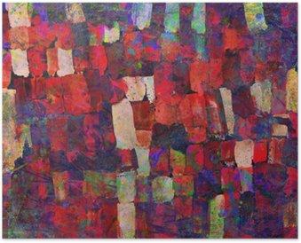 Plakát Abstraktní umění, malba