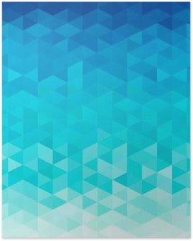 Plakát Abstraktní vody backgorund
