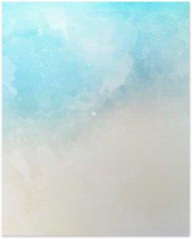 Plakát Akvarel textury na pozadí