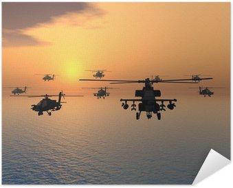 Plakát Apache Helicopter