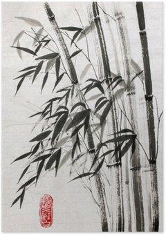 Plakát Bambus je symbolem dlouhověkosti a prosperity