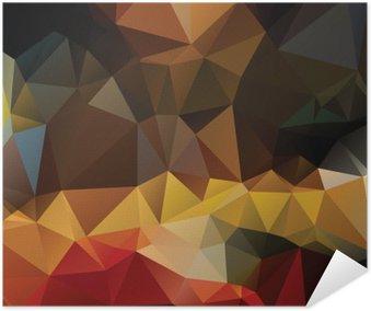 Plakát Barevné abstraktní pozadí