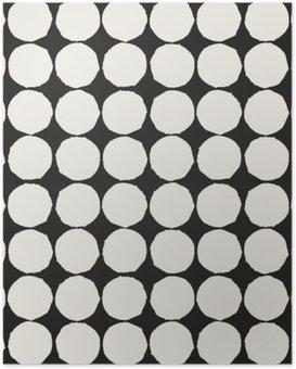 Plakát Bezešvé vzor s grafickými geometrickými prvky