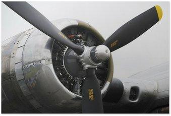 Plakát Bomber letounu,