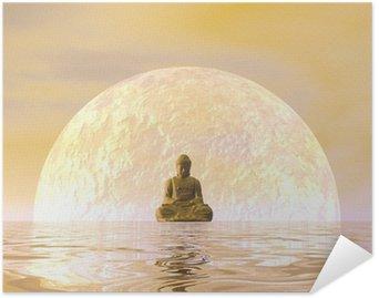 Plakát Buddha Meditace - 3d render
