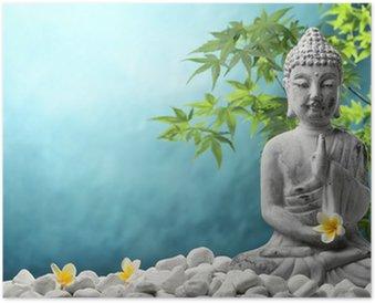 Plakát Buddha v meditaci