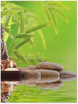 Plakát Buddha Zen