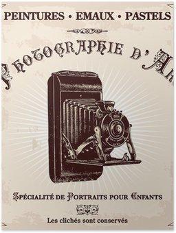 Plakát Bývalý reklamní fotograf
