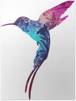 Plakát Bzučení-pták