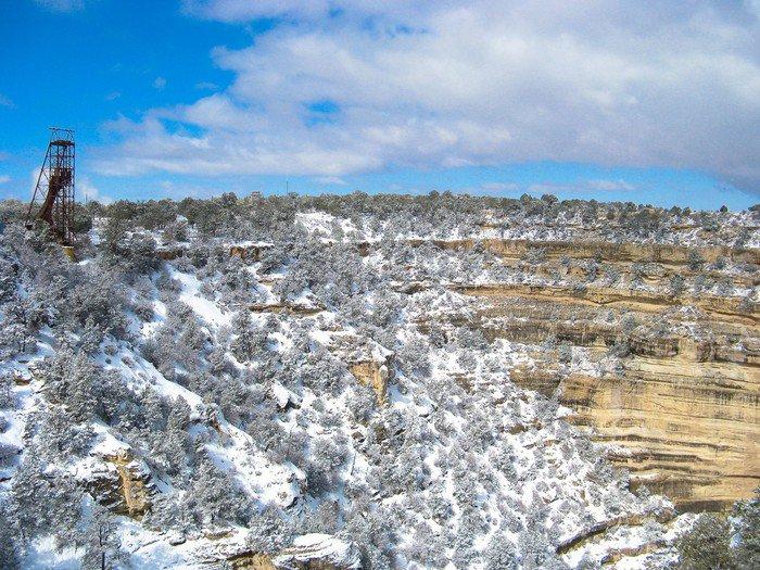 Plakát Cañon del Colorado Nevado - Amerika