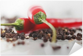 Plakát Červená chilli papričkou