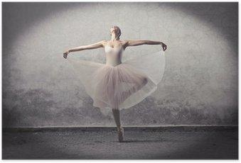 Plakát Classic balerína