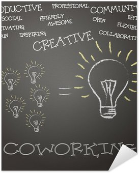 Plakát Concepto coworking