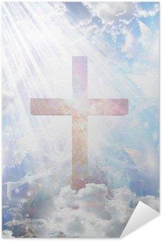 Plakát Cross a andělské formy