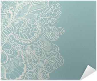 Plakát Dekorativní prvek hranice. Abstract pozvánka. Šablona wa