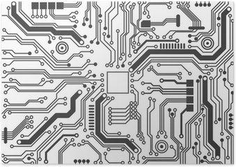 Plakát Deska na pozadí textury