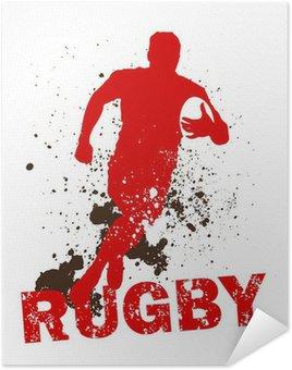 Plakát Dirty Rugby Player