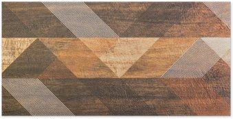 Plakát Dlaždice s geometrickými tvary