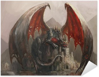 Plakát Dragon Castle