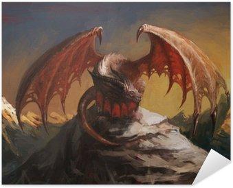 Plakát Dragon hora