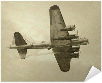 Plakát Druhá světová válka éra americký bombardér