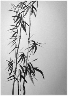 Plakát Dvě bambusové