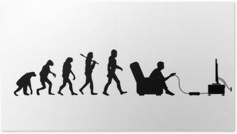 Plakát Evolution Gamer