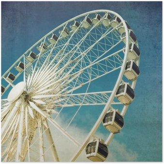 Plakát Ferris retro kolo