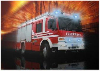 Plakát Feuerwehr