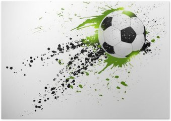 Plakát Fotbal designu