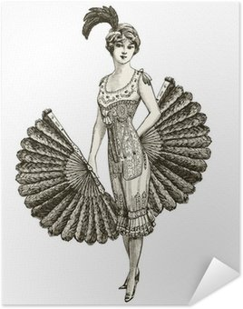 Plakát Francouzská tanečnice