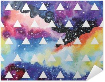 Plakát Galaxy bezešvé vzor.