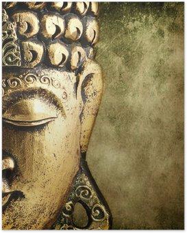 Plakát Golden Buddha