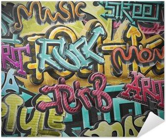 Plakát Graffiti grunge pozadí