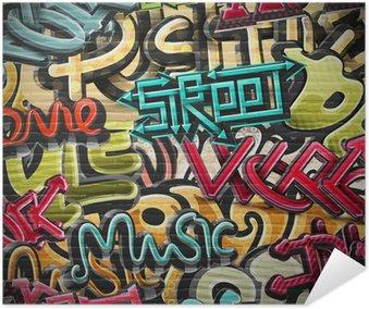 Plakát Graffiti pozadí
