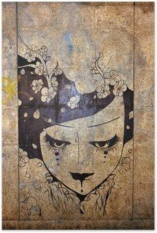 Plakát Graffiti - street art