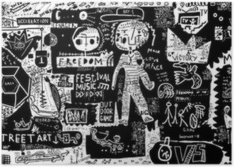 Plakát Graffiti