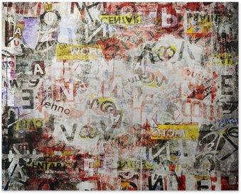 Plakát Grunge texturované pozadí
