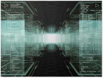 Plakát Hacker world
