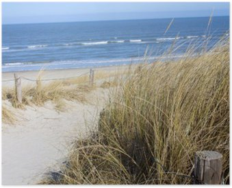 Plakat HD Plaża Morze Północne