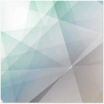Plakát Hipster moderní transparentní geometrické pozadí