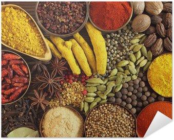 Plakát Indické koření